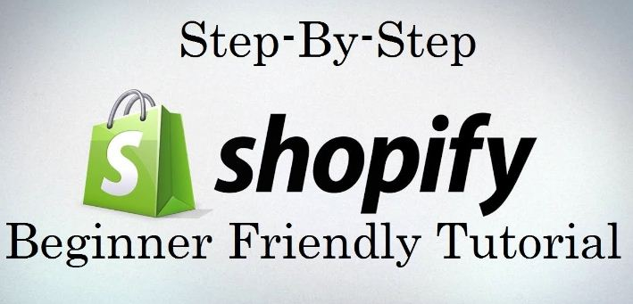 step by step shopify