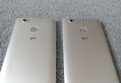 g07 g07+ 比較 背面