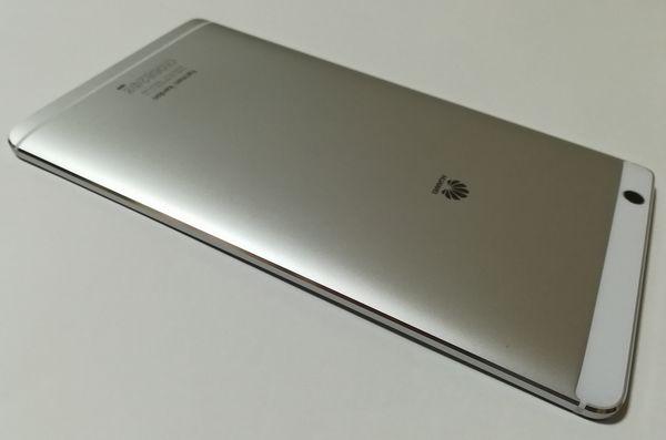 MediaPad M3 アルミボディ
