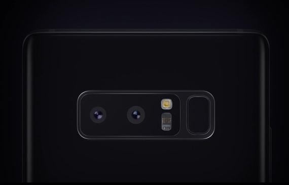 Galaxy Note 8 デュアルカメラ