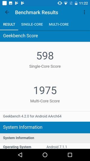 EveryPhone PRをGeekbenchで計測結果