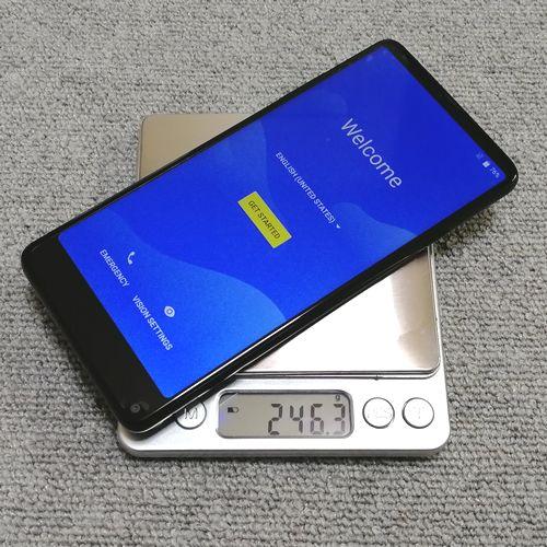 vkworld S8の重量を計測