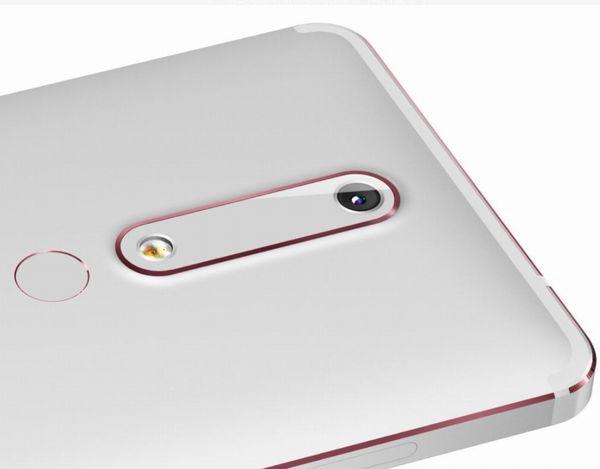 Nokia 6 (2018)の背面