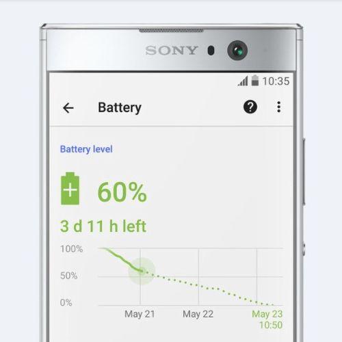 「Xperia XA2」の大容量バッテリー