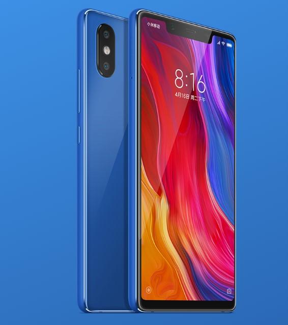Xiaomi Mi 8 SEのディスプレイ
