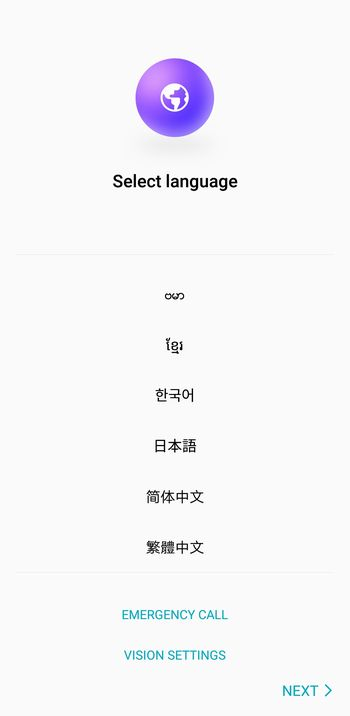 「honor 10」は日本語表示対応