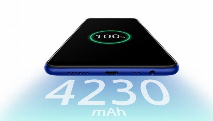 OPPO R15 Neoの大容量バッテリー