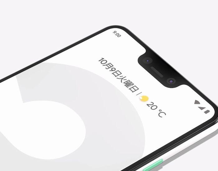 Googleスマホの「Pixel 3」