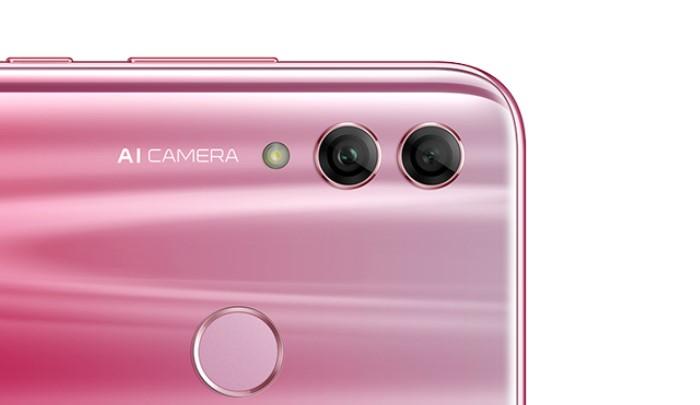 Honor 10 Liteのデュアルカメラ