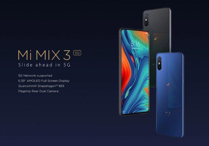 Xiaomi「Mi MIX 3 5G」