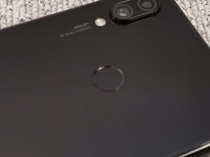 「 Redmi Note 7 」の指紋認証センサーは高速