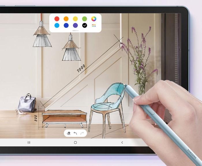 「Samsung Galaxy Tab S6」は専用ペンによる手書きに対応