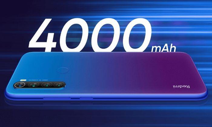 4000mAhバッテリー