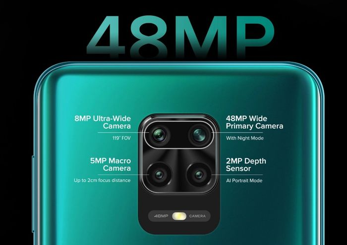 48MPクアッドカメラ