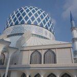 【クアラルンプール】美しいブルーモスク(スルタン・サラディン・アブドゥル・アジズ・シャー・モスク)