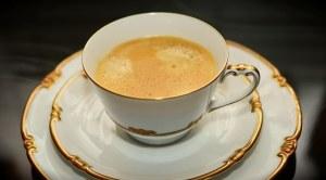 コーヒーカップゴールド