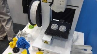 3Dプリンターを見てきた! UP!Plus2, UP! mini 編