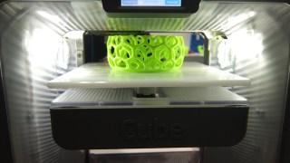 3Dプリンターを見てきた! Cube 3, Cube Pro 編