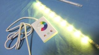 3Dプリンターを「使って」リビングに置きたいマルチカラーLED照明を作ったよ?