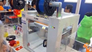 3Dプリンターを見てきた! ムトー MF-1100、MF-2200D編 どんどん新型が出て勢いがあるな!