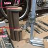 リアエンド130m→135mmへの改造・調整方法 竹フレーム自転車 Bamboobee 組み立て2回目