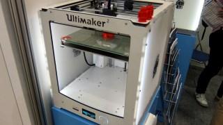 3Dプリンターを見てきた! Ultimaker2はやっぱり見てて欲しくなる完成度