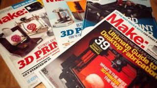 Make:誌の3Dプリンター特集がアツイ。十数台をまとめてレビューしてるので妄想がはかどるんだぜ。