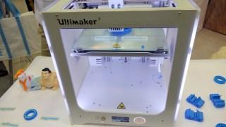3Dプリンターを見てきた! Ultimaker 3 は新機構のデュアルヘッドが良さげ。