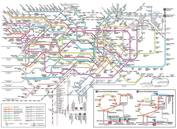 У москвичей токийское метро вызывает нервный тик.