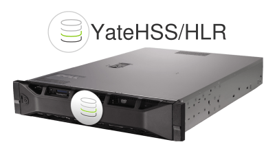 YateHSS/HLR running on a commodity, off-the-shelf hardware unit