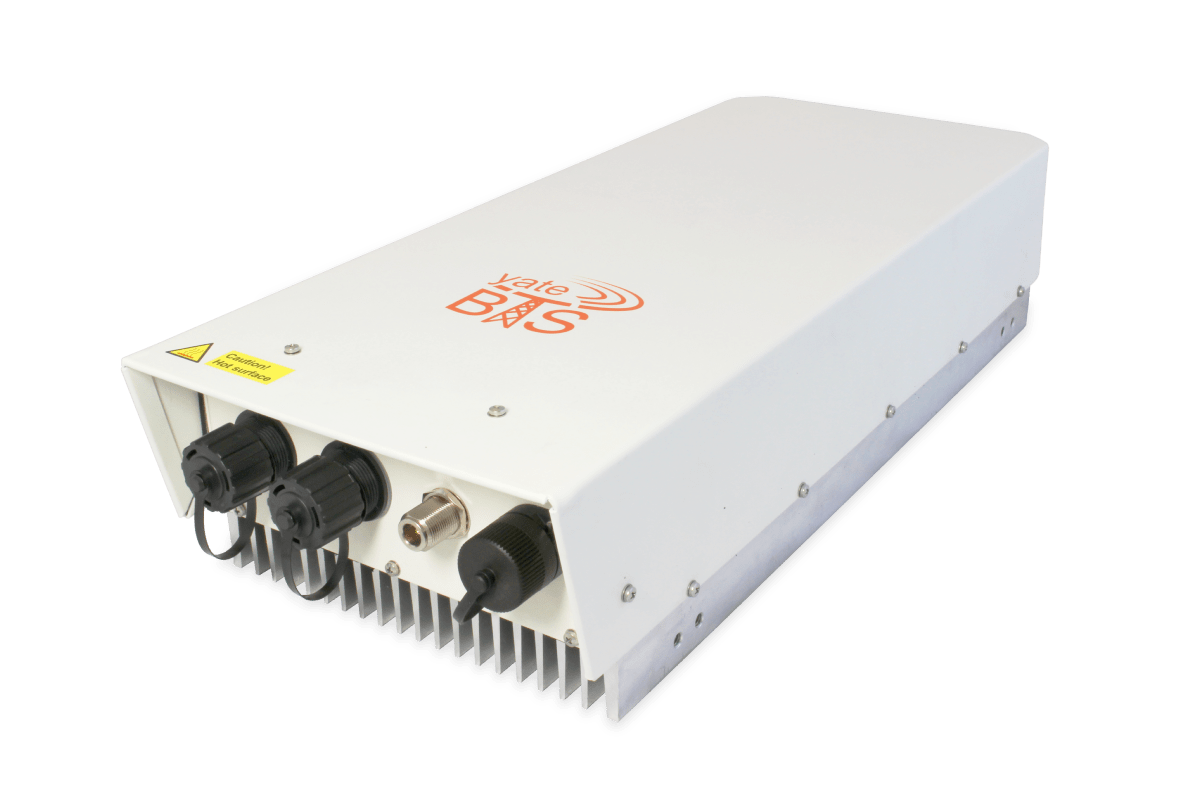SatSite, 20W software-defined LTE eNodeB and GSM BTS/BSC