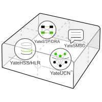 Lab LTE/GSM Core Network: YateHSS/HLR & YateUCN in a box