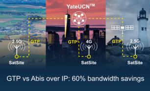 SatSite GTP over Abis benefits