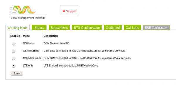 LTE LabKit Configuration 1