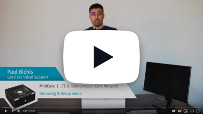 MiniCore unboxing video, how to set up and manage MiniCore using YateMMI