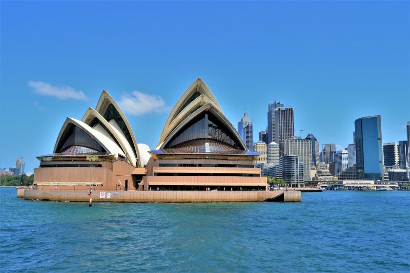 Sydney Opera House - A view from the ferry