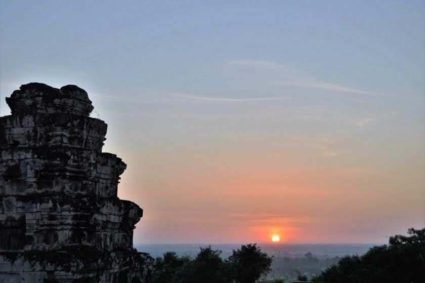 Sunset at Phnom Bakheng (Bakeng Hill)