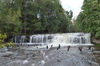 A Waterfall in Phnom Kulen, Cambodia