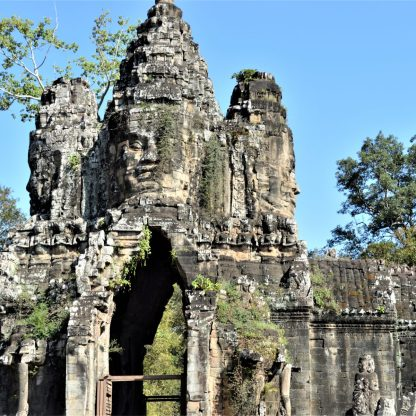 Angkor Thom South Gate in Siem Reap, Cambodia