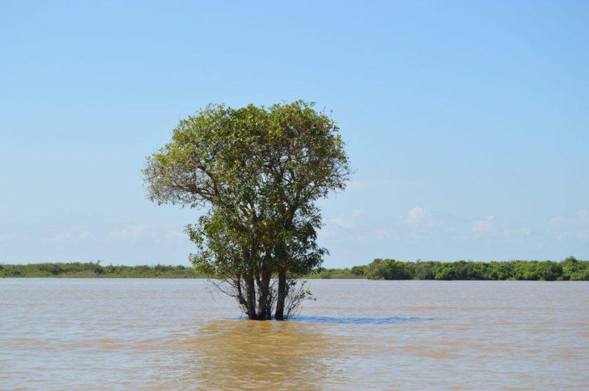 Tonlé Sap Lake in Cambodia