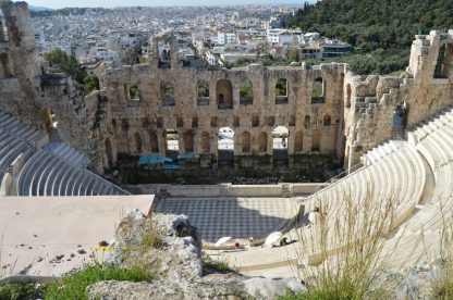 Odeon of Herodes Atticus in Athens, Greece