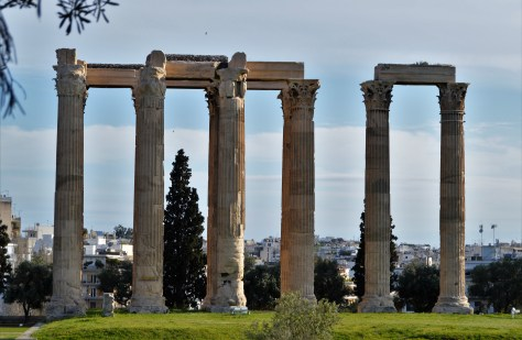 Temple of Olympian Zeus at Athens
