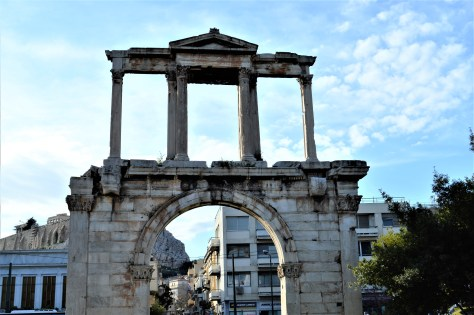 Hadrian's Arch at Athens