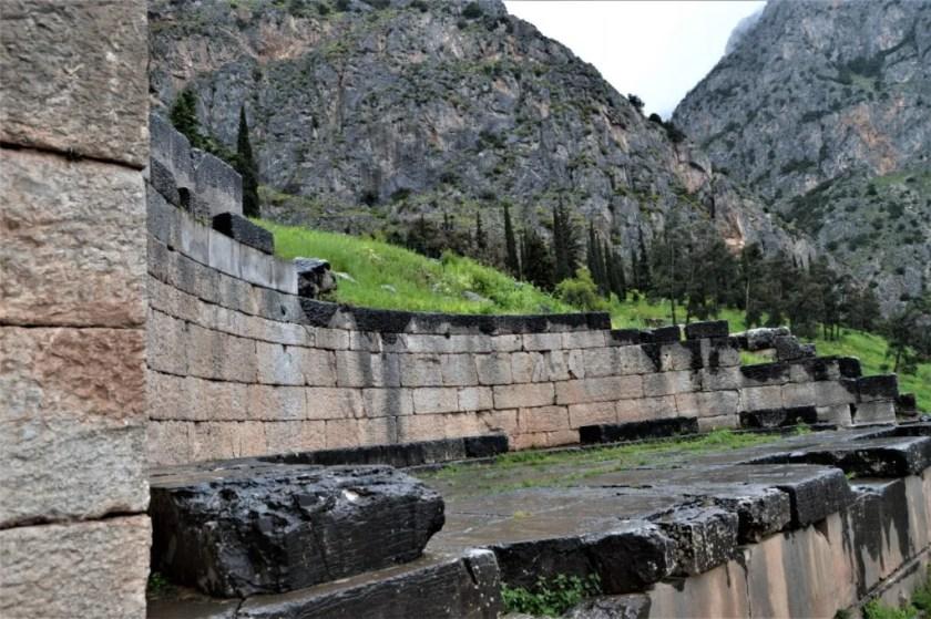 King of Argos monument at Delphi