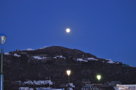 Moonlight at Mykonos
