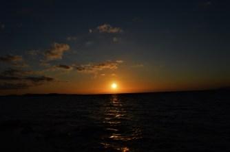 Sunset at Mykonos