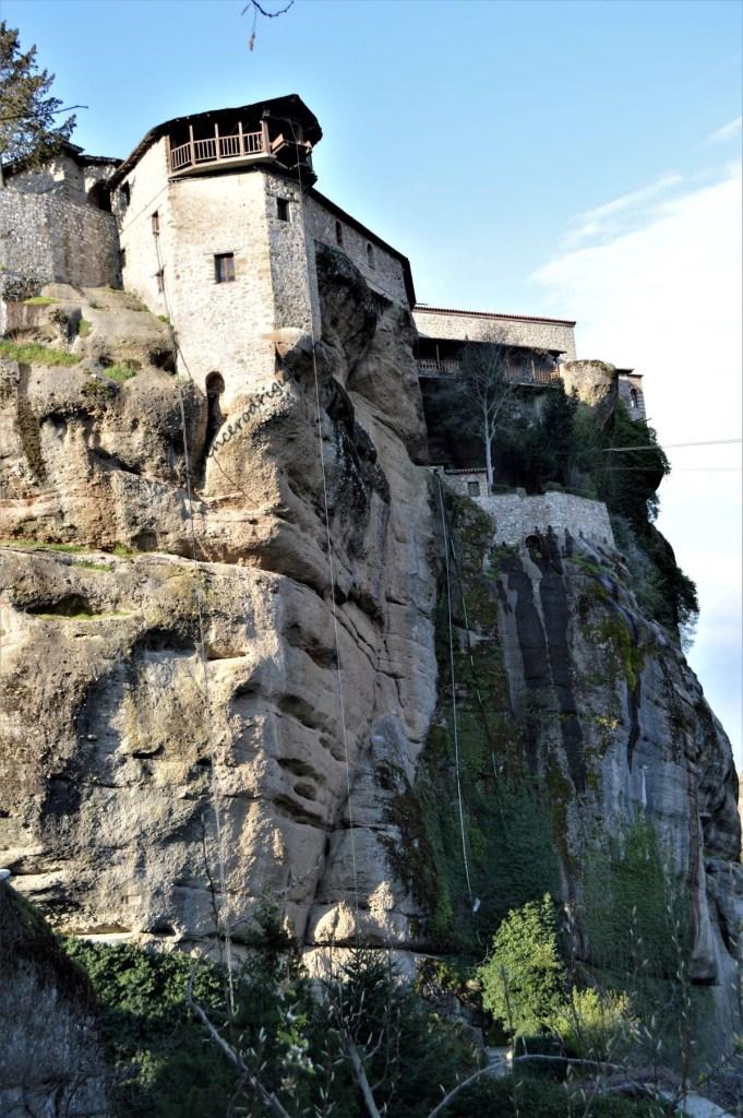 Monastery of Varlaana in Meteora, Greece