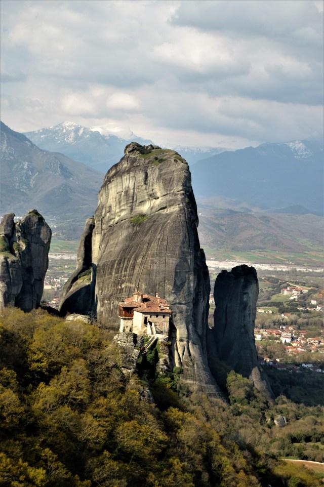 Monastery of Russano in Meteora, Greece