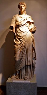 Statue of Poppaea Sabina - Emperor Nero's second wife