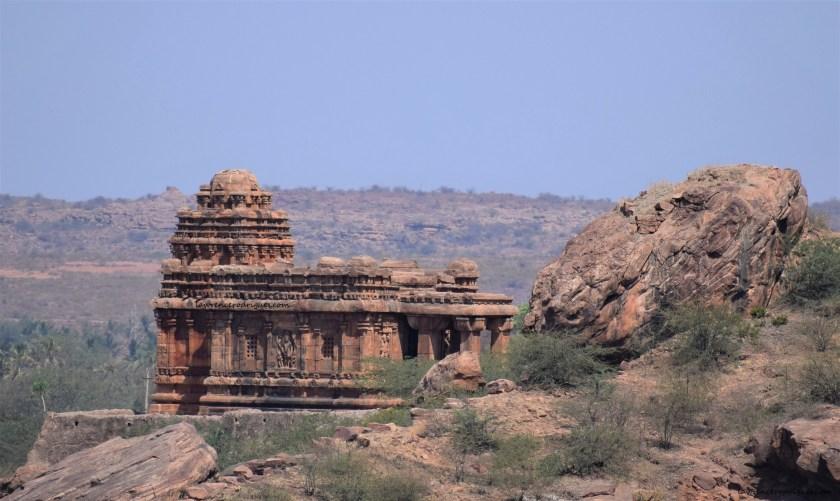 Malegitti Shivalaya in Badami, Karnataka, India
